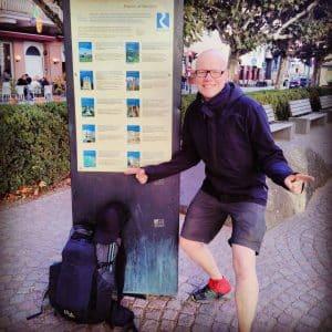 Rheinsteig - Arrival in Wiesbaden