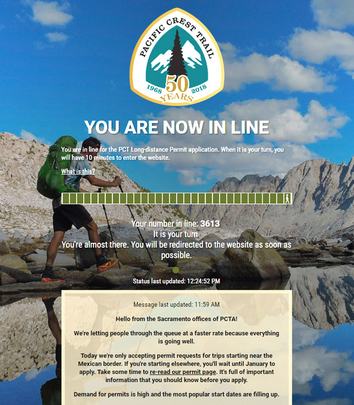 PCT Permit Application Process