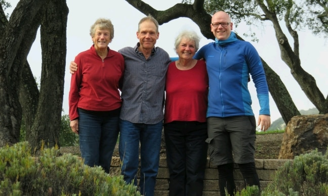PCT Caminofriends: Barb, Ken, Mary-Lynn and I