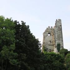 Rheinsteig Stage 1 - The Drachenfels Ruin in the Siebengebirge