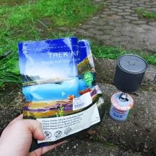 Rheinsteig Stage 2 - Trek n Eat - Chana Masala and Coleman gas stove