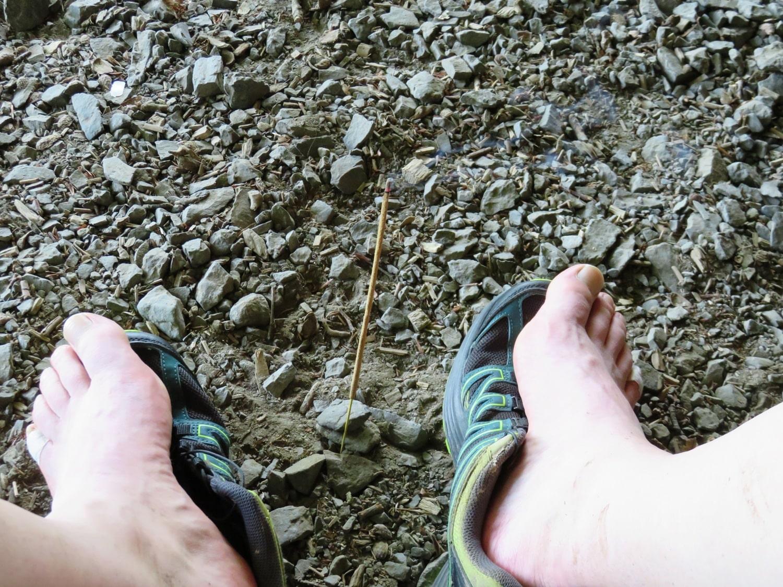 Rheinsteig Stage 2 - Rest and treat the feet