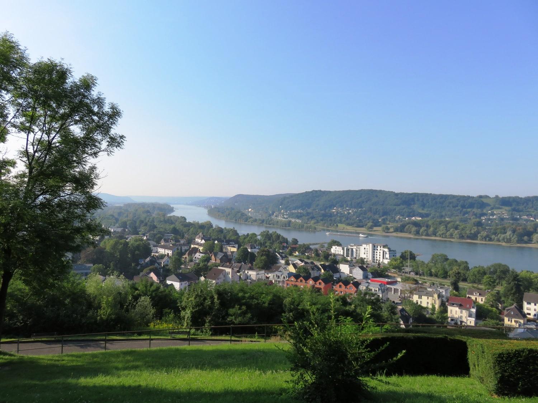 Rheinsteig Stage 2 -View over Rhöndorf