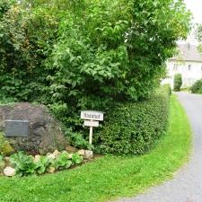 Rheinsteig Stage 3 - Entrance to Haanhof Estate