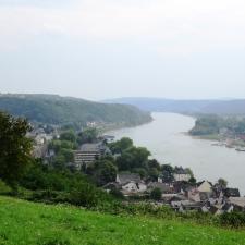 Rheinsteig Stage 3 - View to Linz