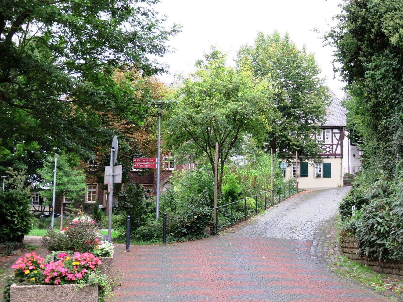 Rheinsteig Stage 4 - Linz at the Rhine