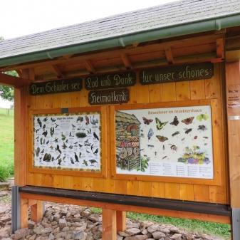 Rheinsteig Stage 4 - Insect house at Rheinsteig