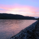 Rheinsteig Stage 4 - View on the Rhine from the banks of the Rhine