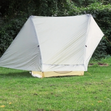 Rheinsteig Stage 4 - Tent setup: Gossamer Gear - The One