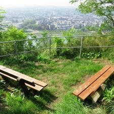 Rheinsteig Stage 5 - Rest area after Leutesdorf