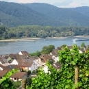 Rheinsteig Stage 5 - View on Leutesdorf