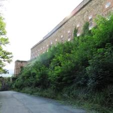 Rheinsteig Stage 7 -  Ehrenbreitstein Fortress - Outer Wall