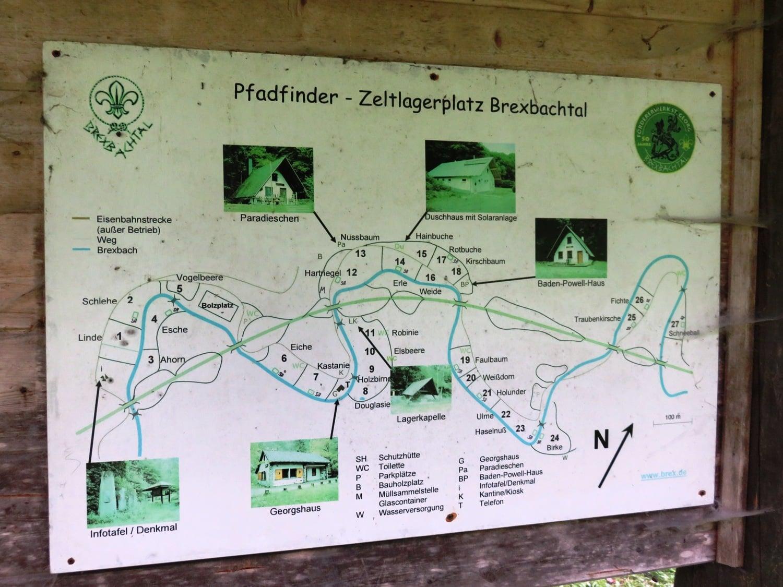 Rheinsteig Stage 7 - Scout campsite in Brexbachtal