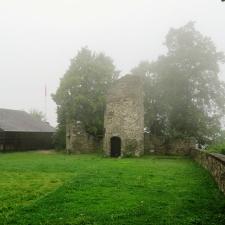 Rheinsteig Stage 7 - At Sayn Castle at dawn