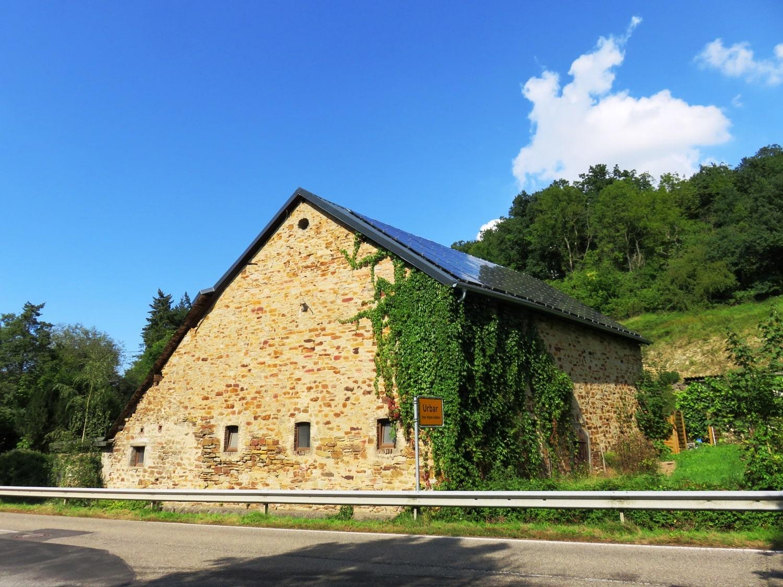 Rheinsteig Stage 7 -  Entrance Urbar