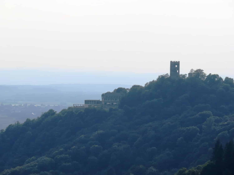 Rheinsteig Stage 1 - View to the Dragonstone